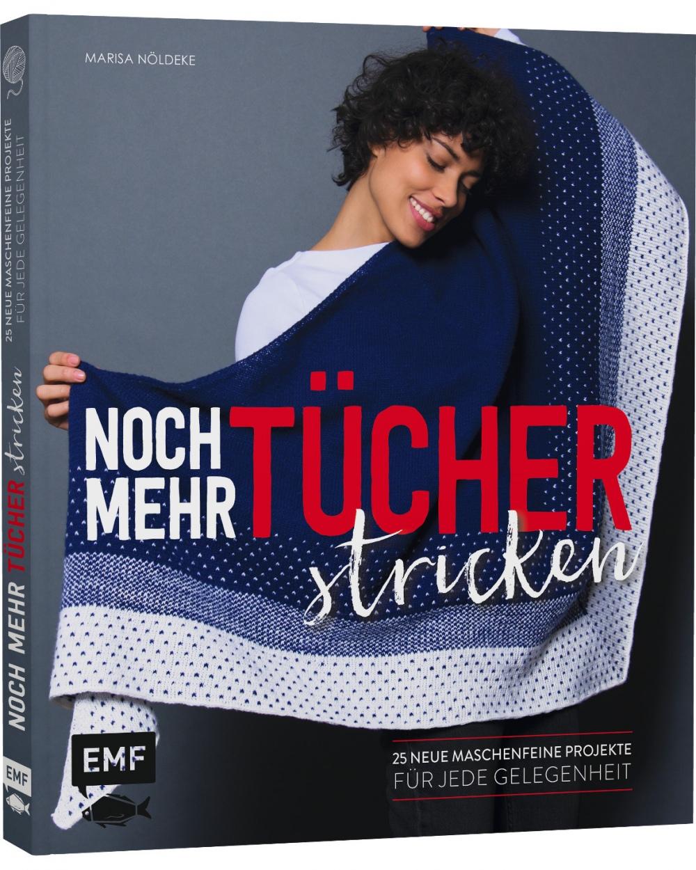 Buch - Noch mehr Tücher stricken